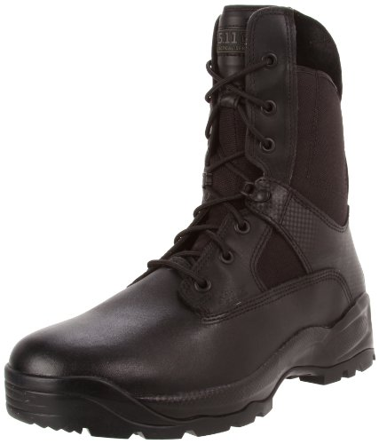 "5.11 Tactical A.T.A.C. 8"" Side Zip Boot, Black, 11"