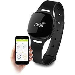 Health o meter nuyu Water Resistant Activity Tracker/Sleep Monitor with Bluetooth 4.0 Technology and Long Lasting Battery