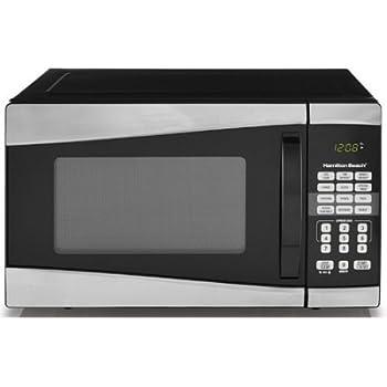 Amazon.com: Hamilton Beach 0.9 cu ft 900W Microwave ...