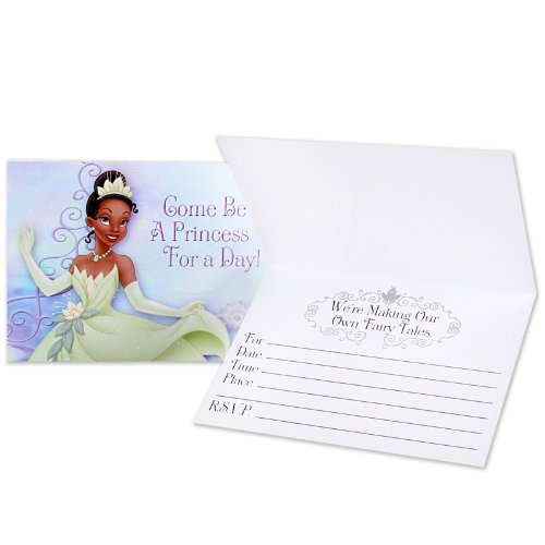 Lets Party By Hallmark Disney Princess and the Frog Invitations (8 count)