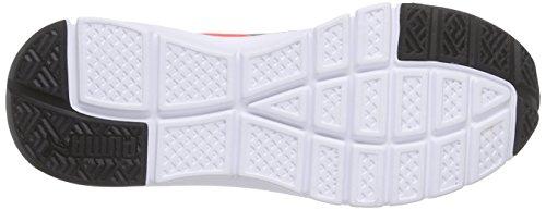 Sneakers Puma Unisex-erwachsene Flexracer Arancione (rosso Blast-nero 02)