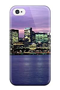 8652688K73041366 New Chicago City Tpu Skin Case Compatible With Iphone 4/4s
