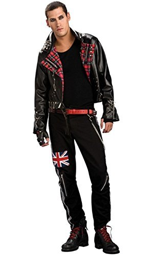 Punked Out Costume (Rubie's Punked Out Fancy Dress (Standard) by Rubies)