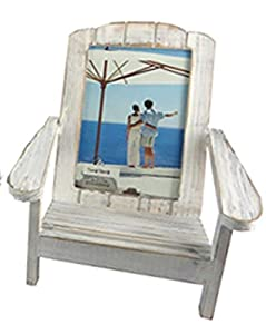 Adirondack Beach Chair Photo Frame Washed