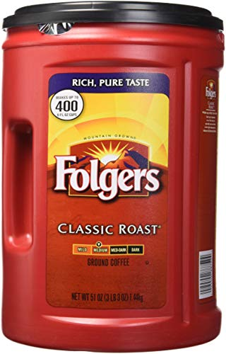 Folgers Medium Roast Coffee - Folgers Coffee, Classic(Medium) Roast, 51 Ounce