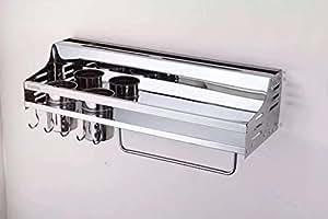 Kitchen Shelf 304 Stainless Steel Knife Holder Kitchen Utensils Storage Shelf Kitchen Knives & Accessories