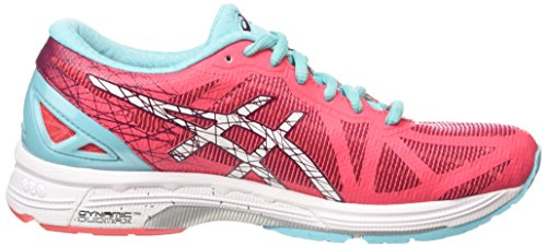 Femme 21 Trainer DS White Compétition Turquoise Chaussures Asics 2001 Pink Diva Rose Running de Gel EUtwwq8