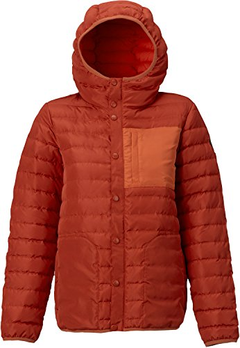 Burton Evergreen Hooded Down Insulator Top, Bitters, Small