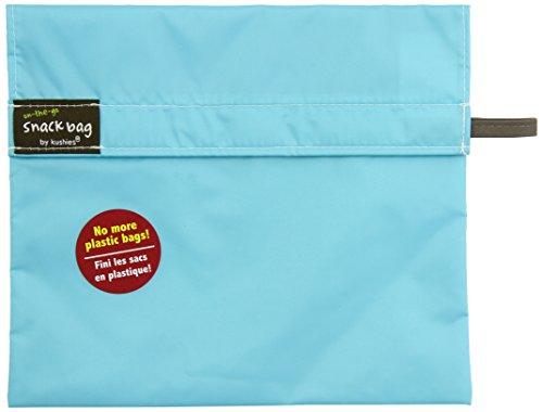 Kushies Snack Bag Aqua Large