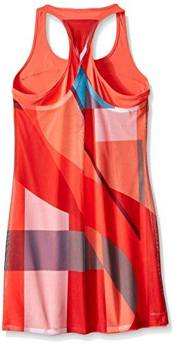 GIRL 'S Kleid adidas hellrot Tennis adizero 76w8Zx