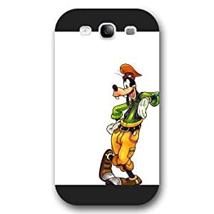 Customized Black Frosted Disney A Goofy Movie Samsung Galaxy S3 Case