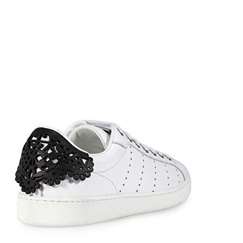 Nero Dsquared2 Monica Santa Pizzo Sneaker Bianco qRXwg