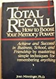 img - for Total Recall How To Boost Your Memory book / textbook / text book