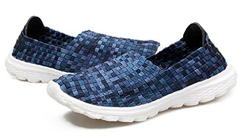 GFONE - Zapatos de tacón  mujer azul2