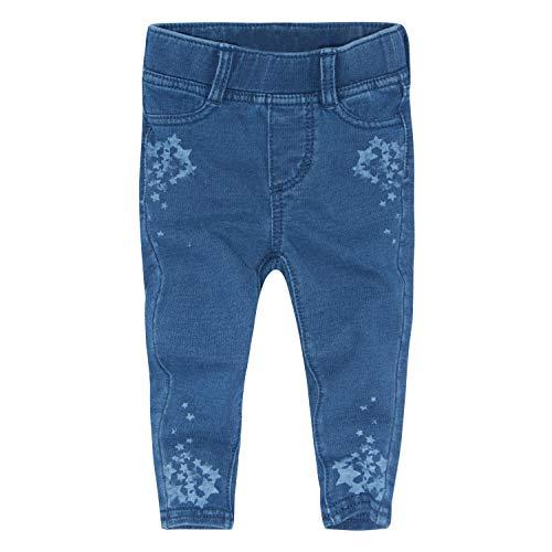 Levi's Baby Girls Super Skinny Fit Pull On Leggings, Indigo Star, 12M
