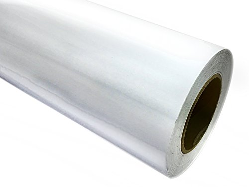 "24"" x 10 ft Roll of Clear Repositionable Adhesive-Backed Vinyl for Craft Cutters, Punches and Vinyl Sign Cutters"