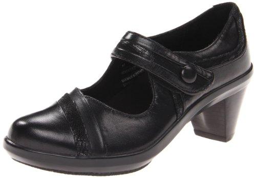 Aravon Women's Anna Mary Jane, Size: 10.5 Width: 2A Color: Black