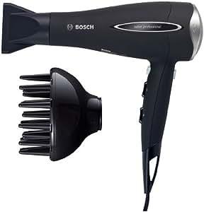 Bosch PHD9760 ProSalon - Secador de pelo con tecnología de iones, 2000 W, color negro