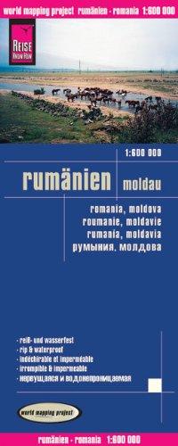 Reise Know-How Landkarte Rumänien, Moldau (1:600.000): world mapping project (Englisch) Landkarte – Folded Map, 24. April 2013 3831770921 Europa Karten Karten / Stadtpläne / Europa