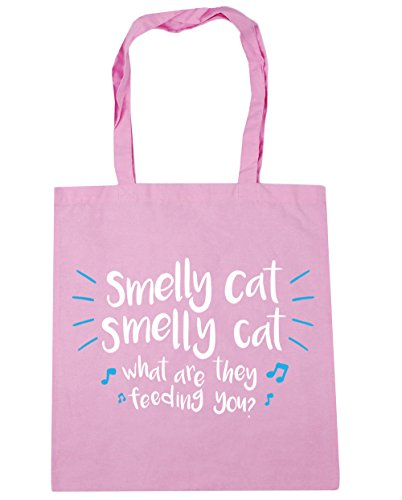 they cat smelly Pink 10 litres Gym feeding Smelly x38cm Beach cat HippoWarehouse Bag are what Classic Tote you Shopping 42cm Yx5wqEWHf
