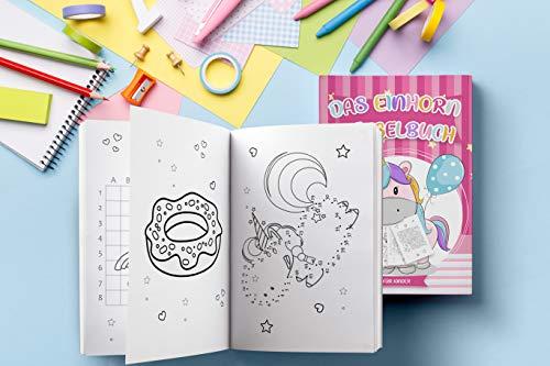 Das Einhorn Rätselbuch Für Kinder über 60 Unicorn Knifflige Rätsel Einhorn Ausmalbilder Und Ratespiele Für Kinder Das Interaktive Kinderbuch Mit