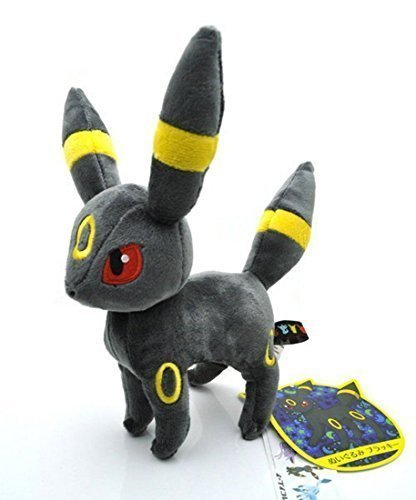 Pokemon Eevee Evolution Umbreon Anime Animals Plush Plushies Stuffed Doll Toy 8