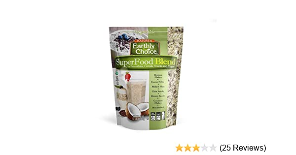 Organic Natures Earthly Choice SuperFood Blend