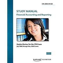 CPA Exam Study Manual: Financial Accounting and Reporting 2008/2009
