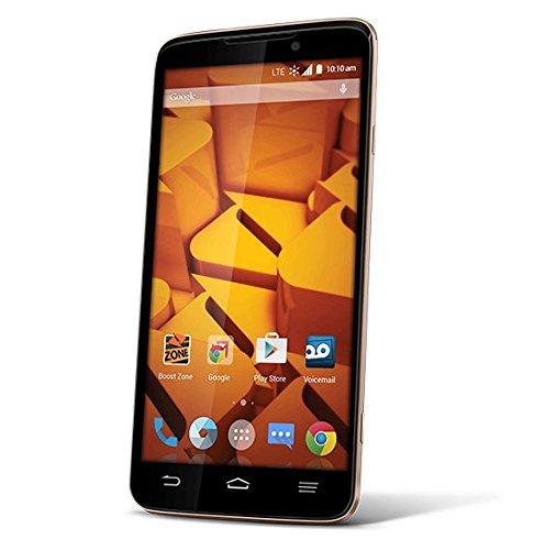 ZTE Boost Mobile MAX+ 4G LTE Prepaid - Phone Mobile Zte Boost