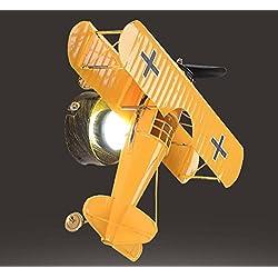 DGS Retro Airplane Wall Lamp Led Boy Room Wall Lamp Children Bedroom Bedside Cartoon Creative Lighting , 2
