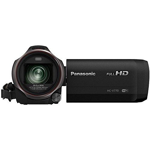 Panasonic HC-V770K HD Camcorder 64GB Bundle - Includes