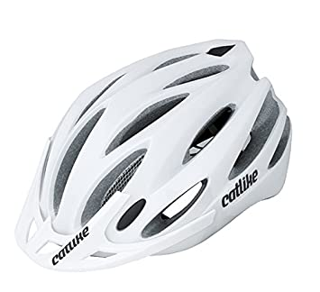Catlike Neko - Casco de ciclismo, color blanco brillo, talla MT (54-
