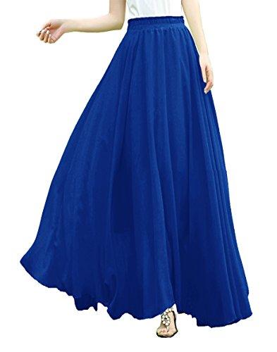 Blue Long Skirt - 2