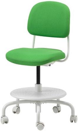 Sedie Per Scrivania Ragazzi Ikea.Ikea Sedia Da Scrivania Per Bambini Verde Brillante Amazon It Casa E Cucina