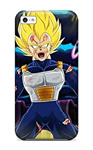 Premium Durable Vegeta Ssj Fashion Tpu Iphone 5c Protective Case Cover