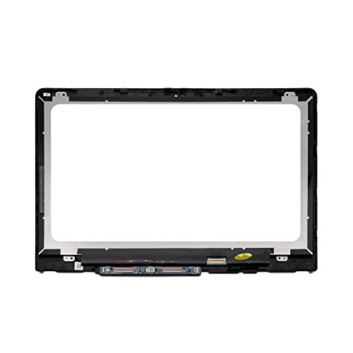 LCDOLED 14.0 inch 1366x768 LCD Display Touch Screen Digitizer Assembly+Bezel+Board Replacement for HP Pavilion x360 14-ba000 14-ba100 14m-ba000 14m-ba100 14m-ba013dx 14m-ba015dx 14-ba110nr 14-ba175nr by LCDOLED (Image #1)