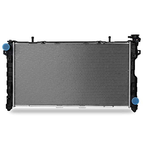 Voyager Chrysler Radiator - CU2795 Complete Radiator for 2005 2006 2007 Chrysler Town & Country Voyager Dodge Grand Caravan Base V6 3.3L 3.8L
