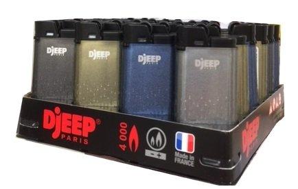 DJeep Diamond Dust Lighters 24 Pieces D Jeep Assorted Colors Lighter