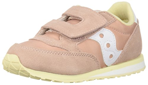 - Saucony Girls' Baby Jazz HL Sneaker, Light Pink/Wh, 10.5 Medium US Little Kid