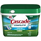Cascade Complete ActionPacs Dishwasher Detergent Fresh Scent 46 Ct