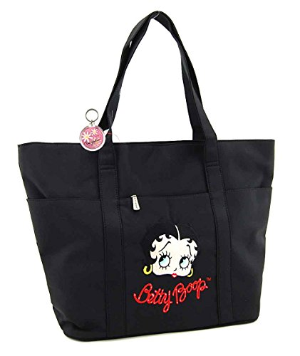 Betty Boop Large Purse with Embr...