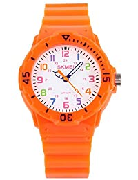 Cute Kids Children Watch Colorful dial Outdoor Sport...