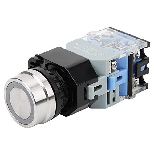 Knoop GQ38 Reset 22mm voor Industriële Controle (Zelfvergrendelend, Pisa Scheve Torentype)