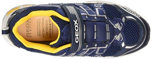 Geox Shuttle B - Zapatillas para niños Azul (Navy/Yellow)