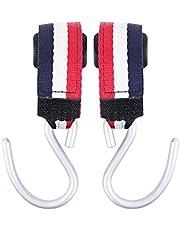 TTone Stroller Hooks 2 Pcs Multi Purpose Hooks Hanger Stroller Clips for Mommy Stroller Accessories for Hanging Diaper Bags Handbags