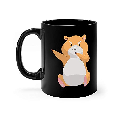 dabbing hamster Mug 11oz Coffee Mug 11oz Ceramic Tea Cups 11 Ounce Coffee Mug Perfect Novelty Gift Mug Funny Gift Mug For Men, Women, Him, Her