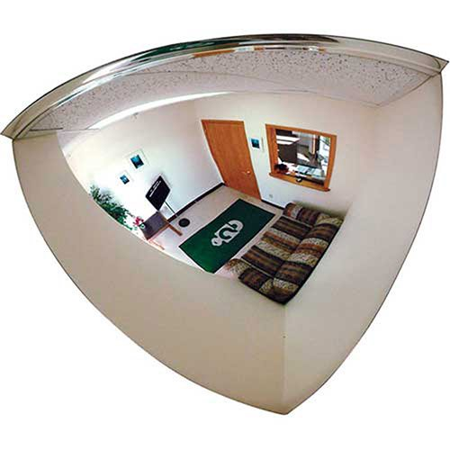Quarter Dome Mirror, 18'' Diameter - Lot of 4