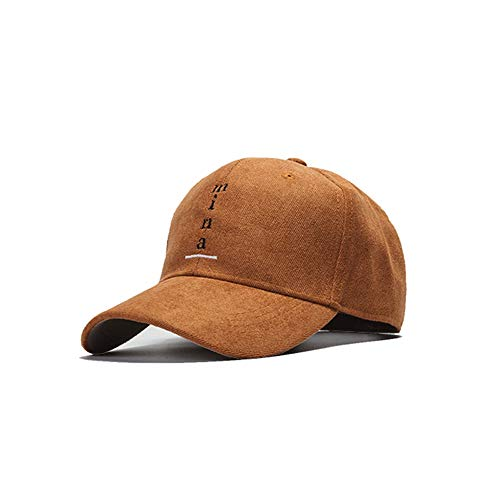 - ADBQM Black Men's Cotton Polyester Baseball Cap Black Summer Outdoor Sports Breathable Sun Hat Dome Men's Women's Universal Baseball Cap (Color : Caramel Color)