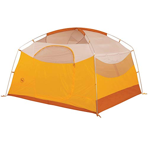 Big Agnes Big House Camping Tent, Gold/White, 4 Person