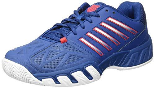 K-Swiss Bigshot Light 3 Mens Tennis Shoes, Dark Blue/Bittersweet/White (US Size 14)